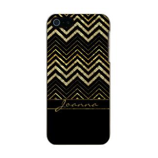 Capa Metálica Para iPhone SE/5/5s Ziguezague Chevron dos diamantes