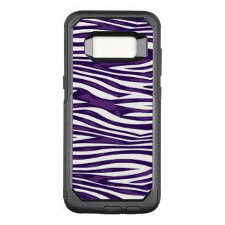 Capa OtterBox Commuter Para Samsung Galaxy S8 Abstrato da zebra da uva