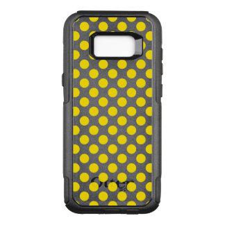 Capa OtterBox Commuter Para Samsung Galaxy S8+ Bolinhas amarelas