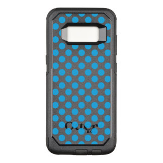 Capa OtterBox Commuter Para Samsung Galaxy S8 Bolinhas azuis