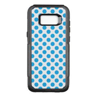 Capa OtterBox Commuter Para Samsung Galaxy S8+ Bolinhas azuis