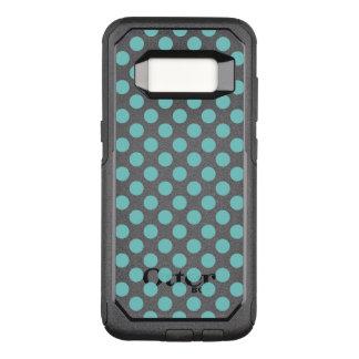 Capa OtterBox Commuter Para Samsung Galaxy S8 Bolinhas do Aqua