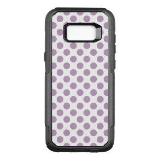 Capa OtterBox Commuter Para Samsung Galaxy S8+ Bolinhas do Lilac
