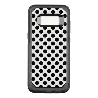 Capa OtterBox Commuter Para Samsung Galaxy S8 Bolinhas pretas