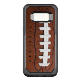 Capa OtterBox Commuter Para Samsung Galaxy S8 Caixa da lontra do design do futebol