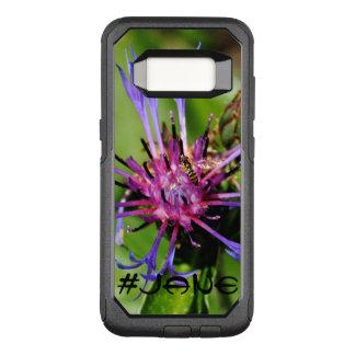 Capa OtterBox Commuter Para Samsung Galaxy S8 Caixa floral da galáxia S8 OtterBox de Sting