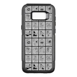 Capa OtterBox Commuter Para Samsung Galaxy S8+ Carta LOONEY da emoção do caráter de TUNES™