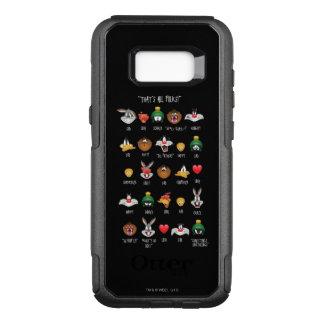 Capa OtterBox Commuter Para Samsung Galaxy S8+ Carta LOONEY de TUNES™ Emoji