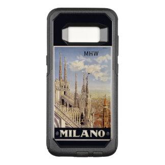 Capa OtterBox Commuter Para Samsung Galaxy S8 Casos feitos sob encomenda do monograma de Milão