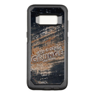 Capa OtterBox Commuter Para Samsung Galaxy S8 É minhas letras oxidadas do GRUNGE do estilo