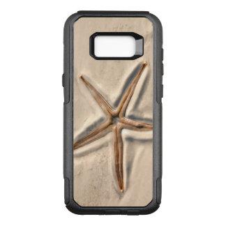 Capa OtterBox Commuter Para Samsung Galaxy S8+ Estrela do mar da praia