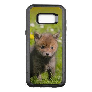 Capa OtterBox Commuter Para Samsung Galaxy S8+ Foto selvagem do animal do bebê de Cub do jogo