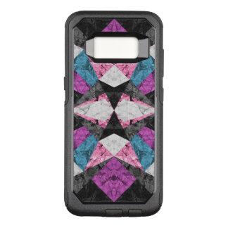 Capa OtterBox Commuter Para Samsung Galaxy S8 Fundo geométrico G438 do mármore do exemplo de