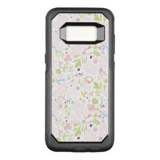 Capa OtterBox Commuter Para Samsung Galaxy S8 indicação do teste padrão floral