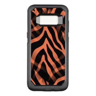 Capa OtterBox Commuter Para Samsung Galaxy S8 Listras corais Snazzy da zebra