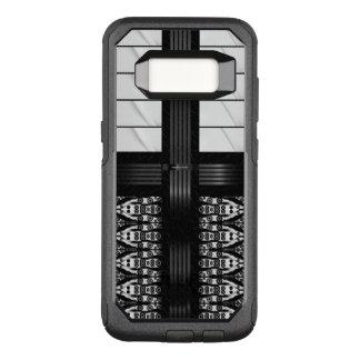 Capa OtterBox Commuter Para Samsung Galaxy S8 Listras pretas do branco da zebra