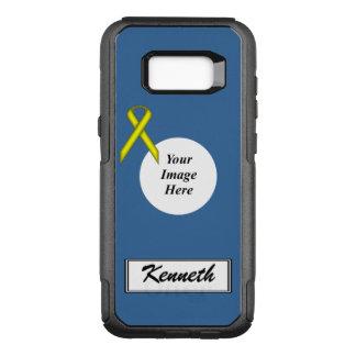 Capa OtterBox Commuter Para Samsung Galaxy S8+ Modelo padrão amarelo da fita por Kenneth Yoncich