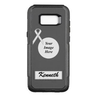 Capa OtterBox Commuter Para Samsung Galaxy S8+ Modelo padrão branco da fita por Kenneth Yoncich
