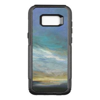 Capa OtterBox Commuter Para Samsung Galaxy S8+ Nuvens litorais