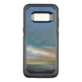Capa OtterBox Commuter Para Samsung Galaxy S8 Nuvens litorais com oceano