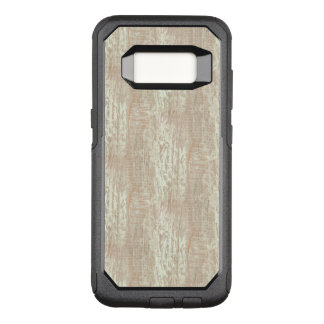 Capa OtterBox Commuter Para Samsung Galaxy S8 Olhar litoral Subdued da grão da madeira de pinho