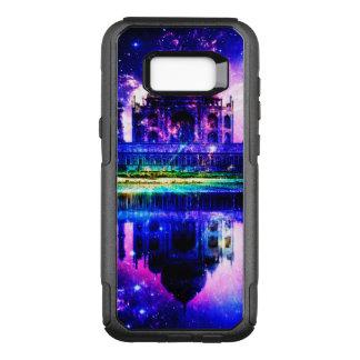Capa OtterBox Commuter Para Samsung Galaxy S8+ Sonhos iridescentes de Taj Mahal