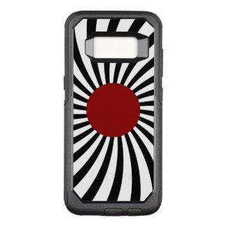 Capa OtterBox Commuter Para Samsung Galaxy S8 Tema de Sun do japonês