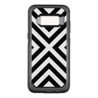 Capa OtterBox Commuter Para Samsung Galaxy S8 Teste padrão das listras