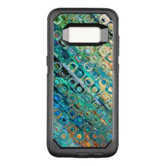 Capa OtterBox Commuter Para Samsung Galaxy S8 Teste padrão geométrico moderno