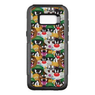 Capa OtterBox Commuter Para Samsung Galaxy S8+ Teste padrão LOONEY de TUNES™ Emoji