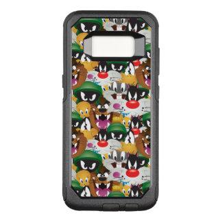 Capa OtterBox Commuter Para Samsung Galaxy S8 Teste padrão LOONEY de TUNES™ Emoji