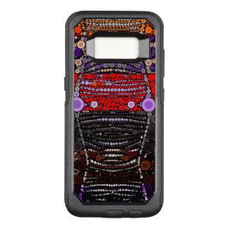 Capa OtterBox Commuter Para Samsung Galaxy S8 Zebra das bolinhas