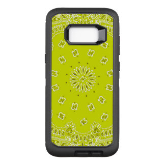 Capa OtterBox Defender Para Samsung Galaxy S8+ Caixa amarela de Samsung S8 Otterbox do bandana