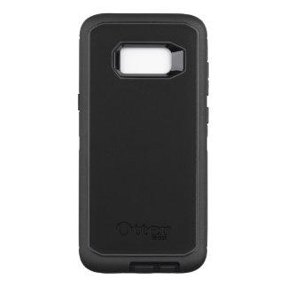 Capa OtterBox Defender Para Samsung Galaxy S8+ Exemplo do defensor de OtterBox para a galáxia S8