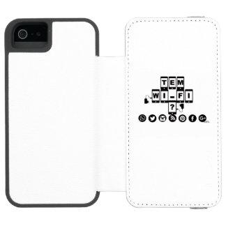 Capa para Celular Capa Carteira Incipio Watson™ Para iPhone 5