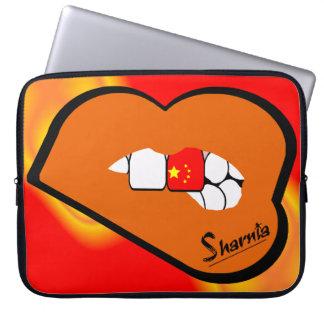 Capa Para Computador A bolsa de laptop de China dos lábios de Sharnia