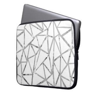 Capa Para Computador Estrutura dos triângulos com uma colagem das pias