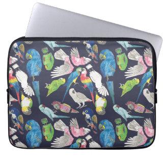 Capa Para Computador Papagaios e 'Toos