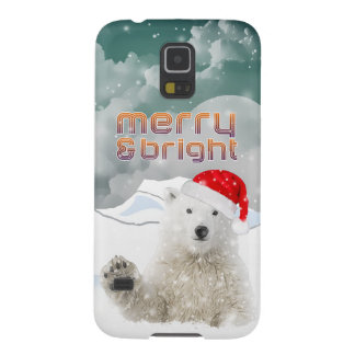 Capa Para Galaxy S5 Caixa da galáxia S5/S4 do urso polar | Samsung do