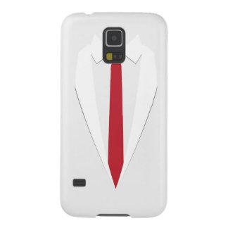 Capa Para Galaxy S5 caixa vermelha da galáxia s5 de Samsung do laço do