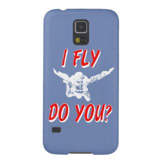 Capa Para Galaxy S5 Eu vôo, faz você? (branco)
