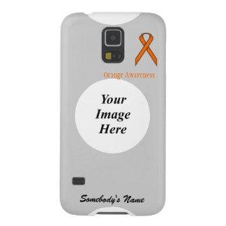 Capa Para Galaxy S5 Fita padrão alaranjada por Kenneth Yoncich
