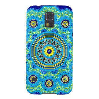 Capa Para Galaxy S5 Flora do Victorian e azul da fauna