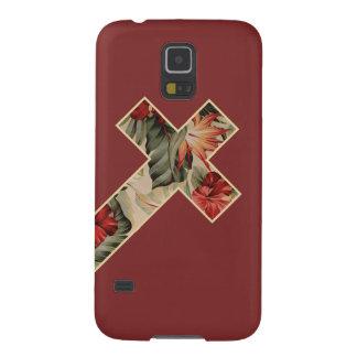 Capa Para Galaxy S5 Floral transversal