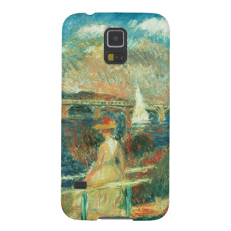 Capa Para Galaxy S5 Pierre bancos de Renoir um   do Seine em