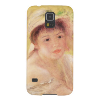 Capa Para Galaxy S5 Pierre uma mulher de Renoir   em um chapéu de