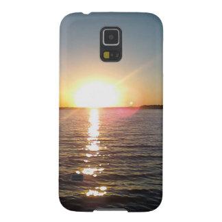 Capa Para Galaxy S5 Por do sol na albufeira