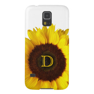 Capa Para Galaxy S5 Sorriso grande/girassol amarelo