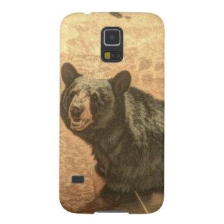 Capa Para Galaxy S5 urso preto dos animais selvagens do rio da região