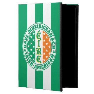 Capa Para iPad Air 2 Bandeira americana irlandesa de Éire do orgulho